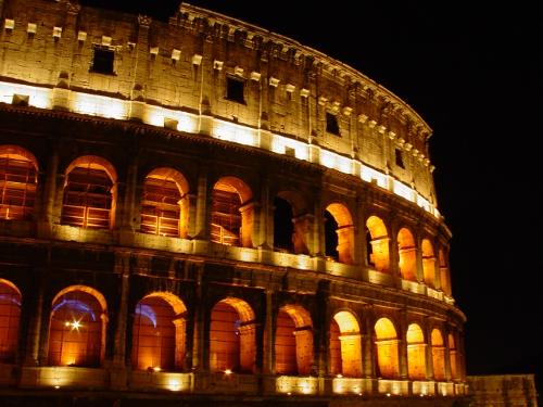 FOTO: Římské Colosseum
