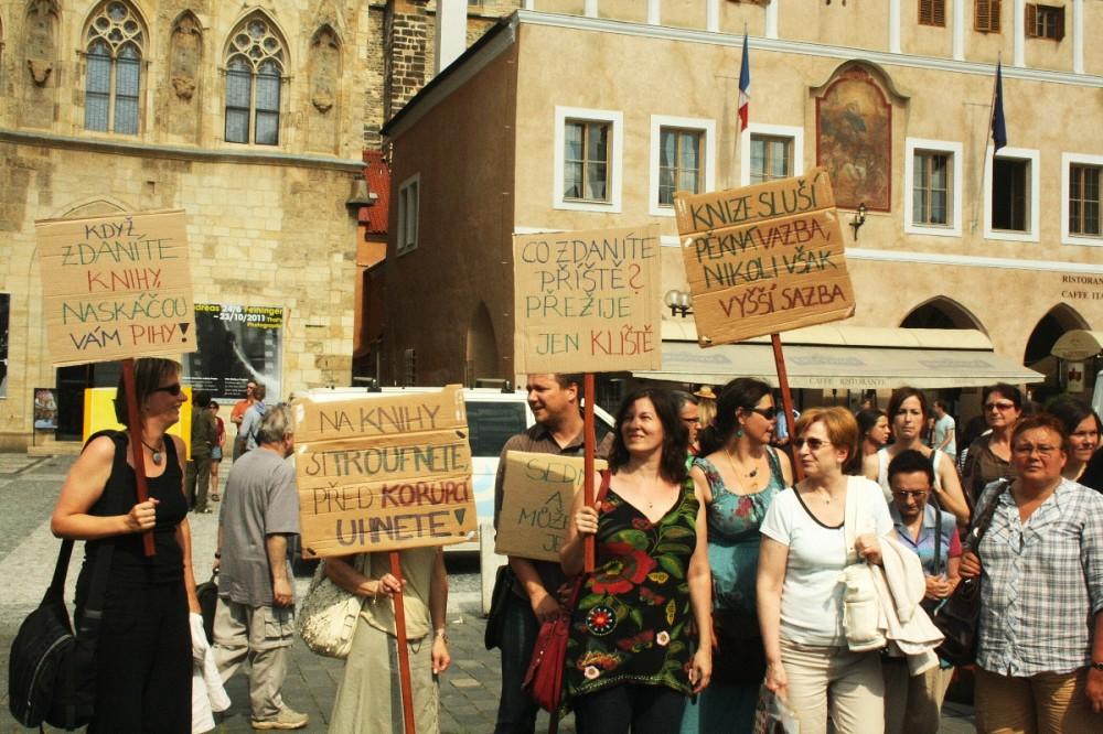FOTO: Demonstrace