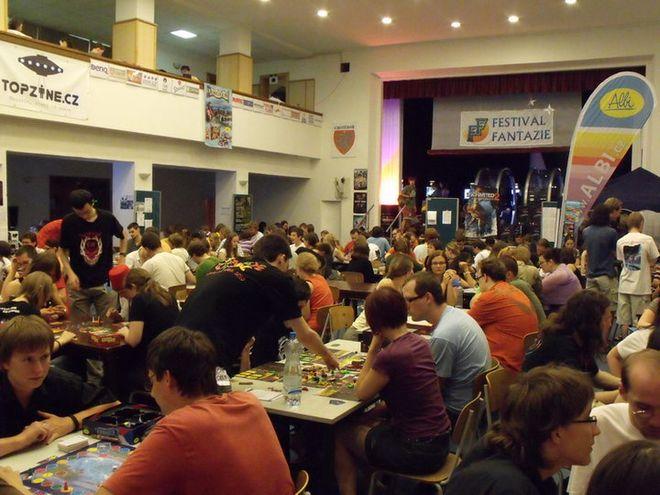 FOTO: Festival fantazie 2010 - hraní deskových her