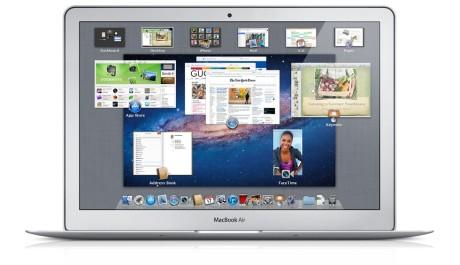FOTO: Mac OS X Lion - Mission Control
