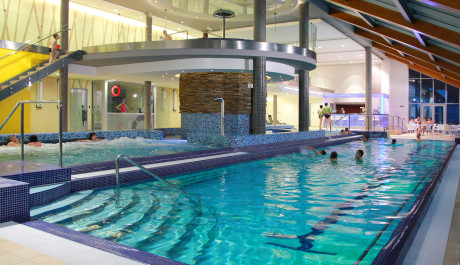 FOTO: Termální bazén v hotelu Horal se slanou vodou