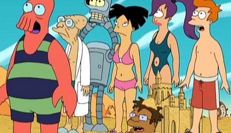 FOTO: Hlavní postavy seriálu Futurama