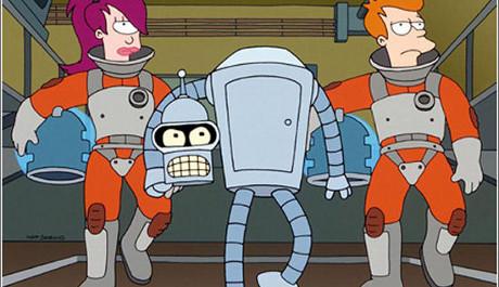 FOTO: Fotka hlavních postav ze seriálu Futurama