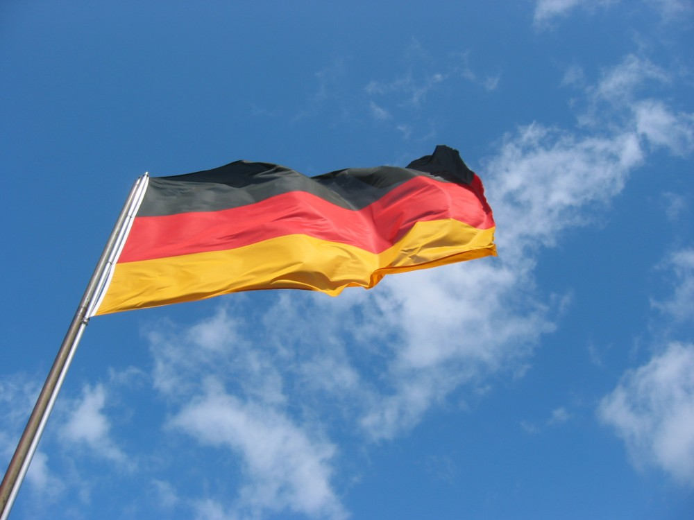 FOTO: německá vlajka