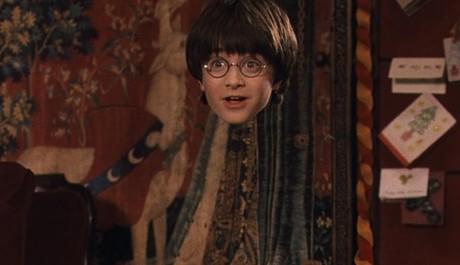 FOTO: Neviditelný Harry Potter v prvním filmu