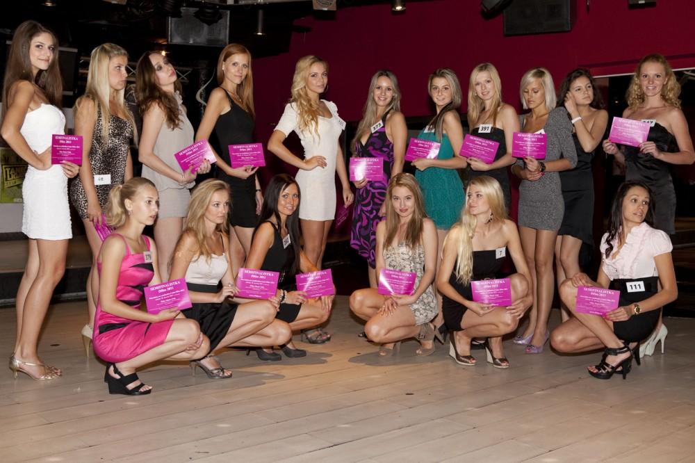 FOTO: Semifinalistky iMiss 2011, casting Praha