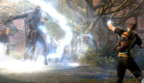 OBR.: Tlaková vlna proti několika nepřátelům