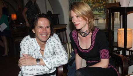 FOTO: Janek Ledecký s Lindou Rybovou na tiskové konferenci k připravovanému muzikálu Vánoční zázrak