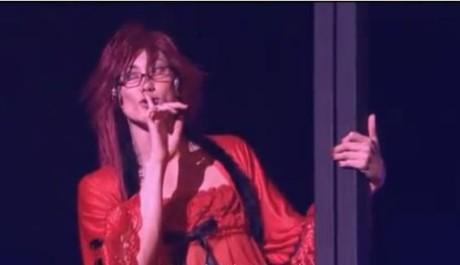 OBR: Uehara Takuya v roli Grella v muzikálu Kuroshitsuji