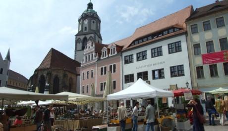 FOTO: Míšeň - náměstí Frauenkirche