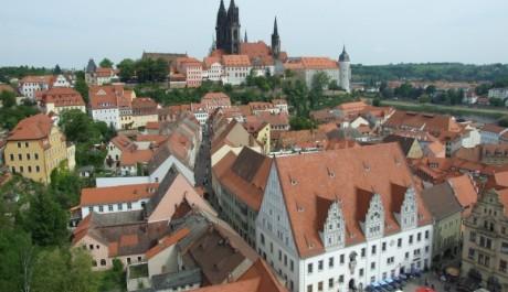 FOTO: Míšeň - pohled z věže Frauenkirche