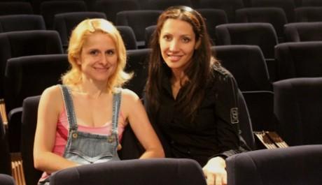 FOTO: Olga Lounová s choreografkou Majkou Veselou