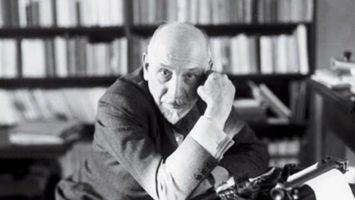 Sicilský spisovatel Luigi Pirandello