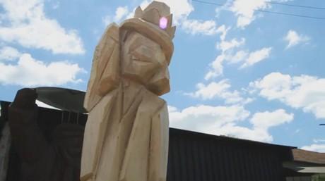 FOTO: polotovar sochy bolka polivky