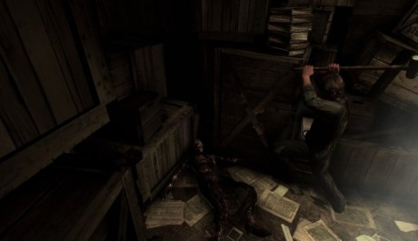 Silent Hill Downpour - mrtvola