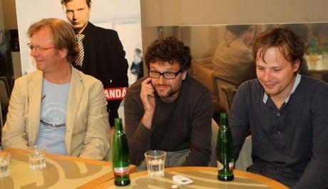 FOTO: Maroš Kramár, Patrik Hartl a Kryštof Hádek