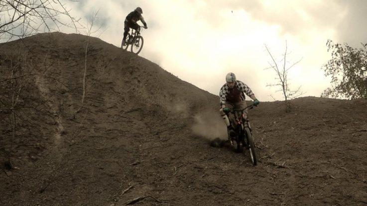FOTO: Adrenalin na horských kolech