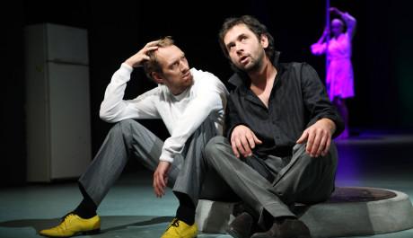 Foto: Tomáš Pavelka a Filip Čapka v Biomanželkce