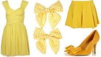 FOTO: Žluté oblečení