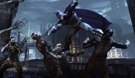 OBR.: Batman mlátí lidi