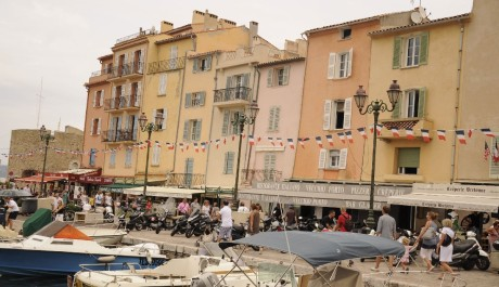 FOTO: Přístav v Saint-Tropez