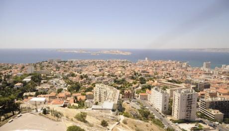 FOTO: Pohled na Marseille od basiliky