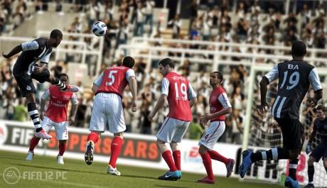 OBR.: Zápas mezi Arsenalem a Newcastlem
