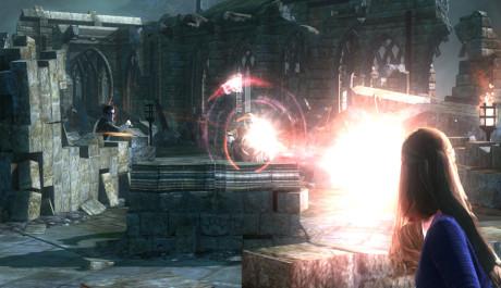 Boj v troskách hradu