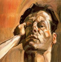 FOTO: Lucian Freud, Hava Muže (Atoportét), 1963, zdroj: Museum Syndicate