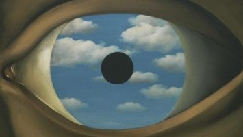 OBR: Rene Magritte The False Mirror