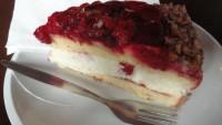 FOTO: Malinový dort  U Červené židle
