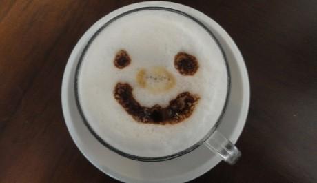 FOTO: I káva se umí usmívat