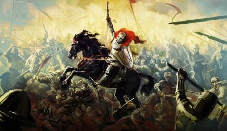 OBR.: Artwork: Jezdec v bitvě