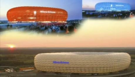 FOTO: Allianz Arena Mnichov