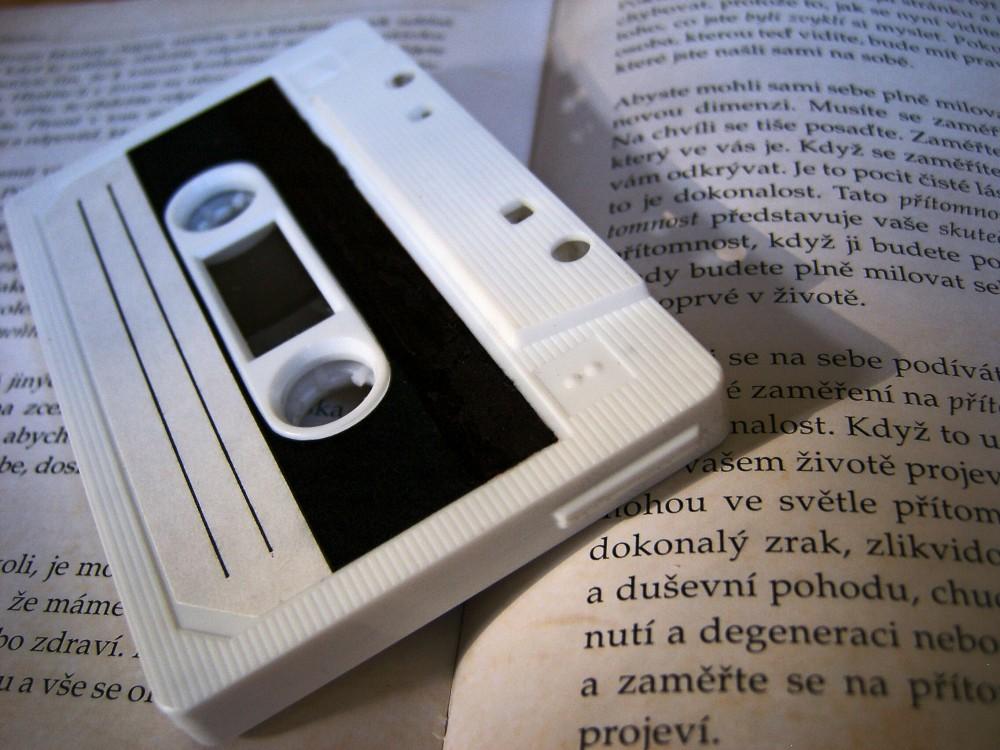 FOTO: Audiokazeta, nyní už jako vzpomínka