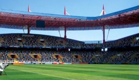 FOTO: Fotbalový stadion v Aveiru