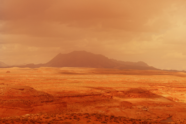 FOTO: Nejvyšší teplota byla naměřena na poušti Lút v Íránu před pár lety