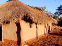 FOTO: křesťanský kostel v Zambii