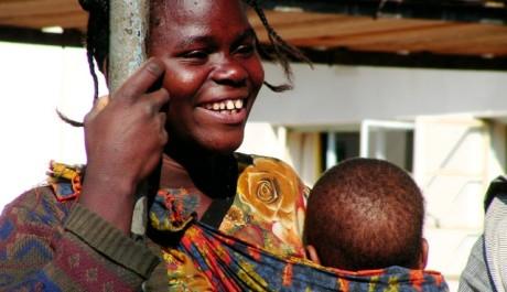 FOTO: Role matky v Africe je na naše poměry nestandardní