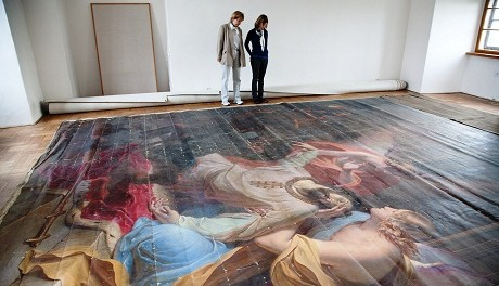 OBR: Obraz sv. Václava v Kroměříži, Anton Petter