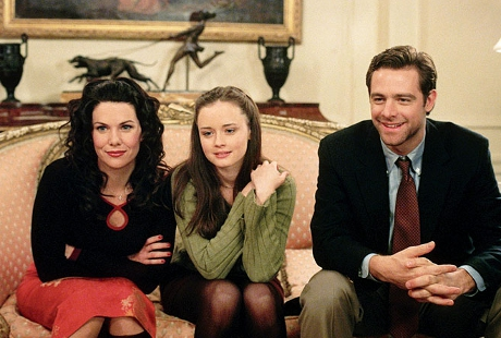 FOTO: Lauren Graham, Alexis Bledel a David Sutcliffe v seriálu Gilmorova děvčata