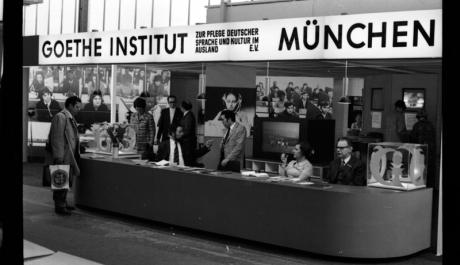Goethe-Institut - propagace v 70. letech