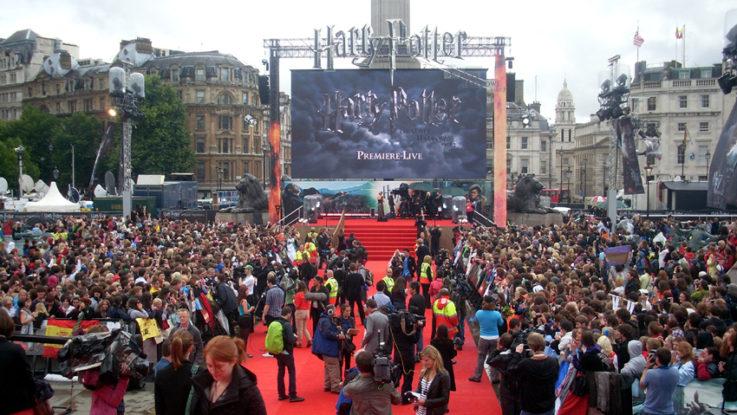 FOTO: Harry Potter premiera