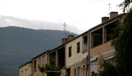 FOTO: Kříž ve Skopje