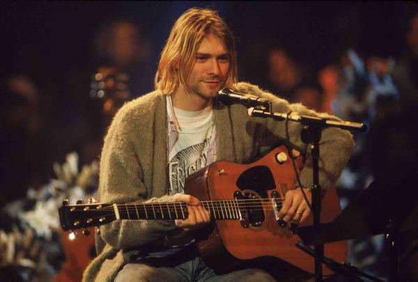 FOTO: Kurt Cobain