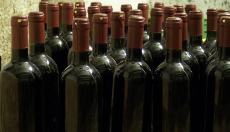 FOTO: Lahve vína