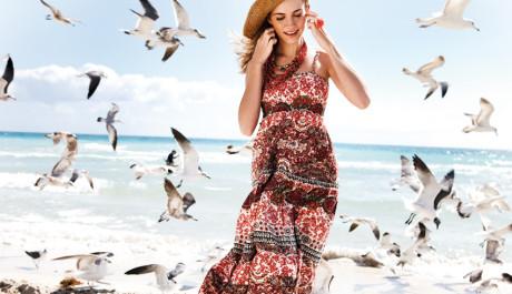 FOTO: Maxi šaty, léto 2011, New Yorker