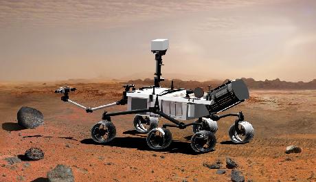 FOTO: Mars Rover