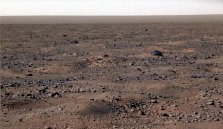 FOTO: Povrch Marsu