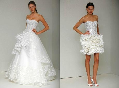 FOTO: Monique Lhuillier, svatební šaty